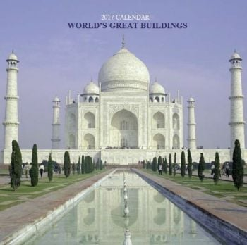 WORLD`S GREAT BUILDINGS 2017. /стенен календар/