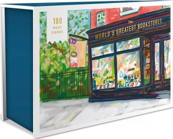 WORLD`S GREATEST BOOKSTORES: 100 Postcards