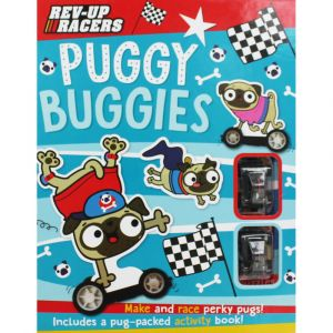 "PUGGY BUGGIES. ""Rev-Up Racers"""