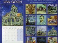 VAN GOGH 2014. /стенен календар/