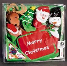 """MERRY CHRISTMAS. """"Hand Puppet Board Books"""""""