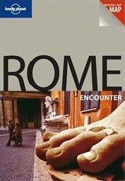 """ROME. with pull-out MAP. 1st ed. """"Lonely Planet"""""""