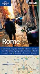 """ROME.  """"Lonely Planet City Map"""""""