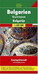 BULGARIA: Road map / Carta routiere / Carta stra