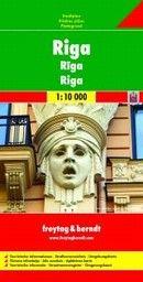 RIGA: City map / Plan de ville / Pianta della ci