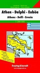 ATHEN: Autocarte / Road map. /1:200 000/