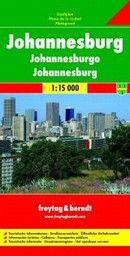 JOHANNESBURG: City map / Plan de ville / Pianta