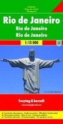 RIO DE JANEIRO: City map / Plan de ville / Piant