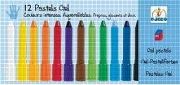 Пастели Гел Момче. 12 пастела. Възраст: +4 год.