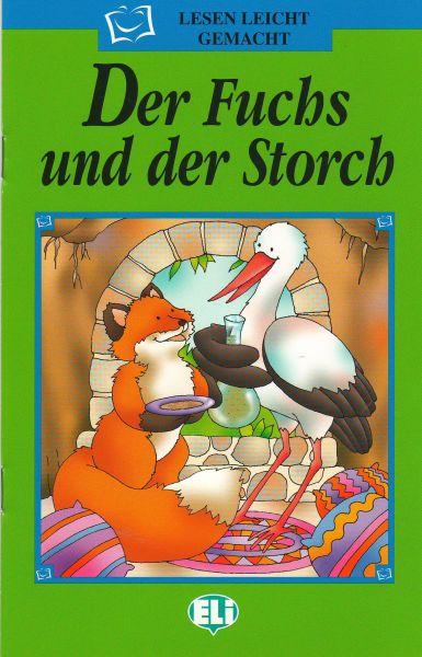"""DER FUCHS UND DER STORCH. """"Lesen Leicht Gemacht"""""""