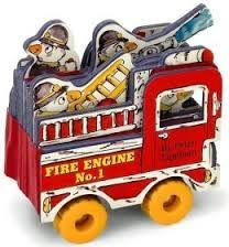 FIRE TRUCK: Mini House Books